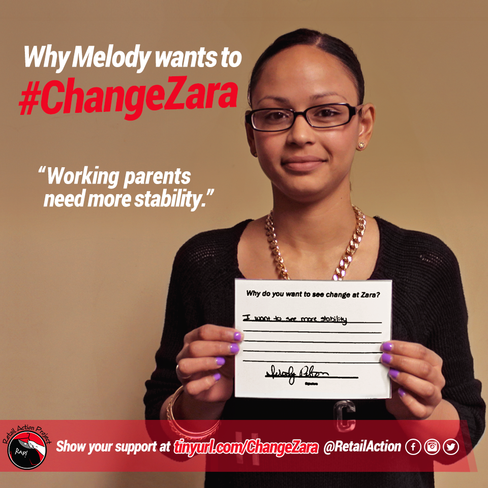 #ChangeZara for working parents