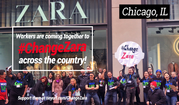 #ChangeZara Chicago